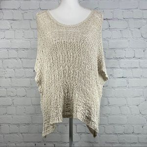 Abercrombie open knit sweater